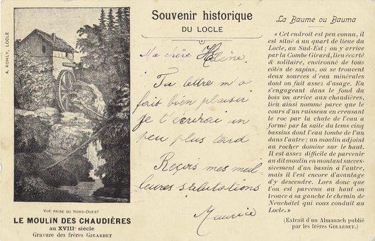 Le Moulin des Chaudières