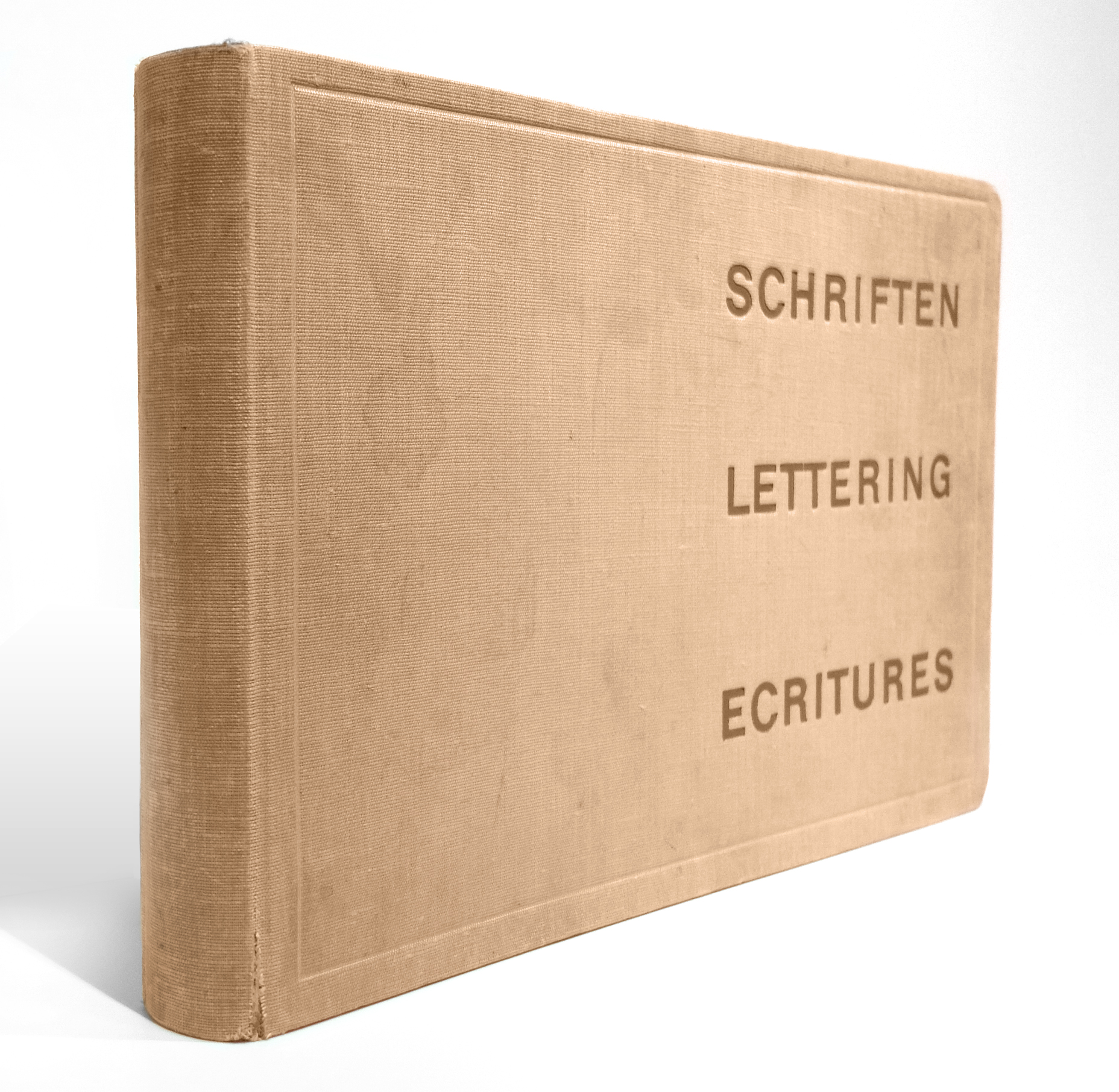 Walter Käch - Schriften, Lettering, Écritures (1949)