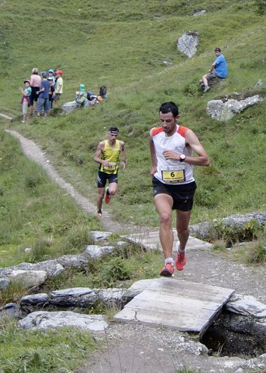 Course Sierre-Zinal 2014