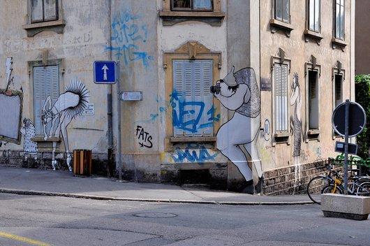 Graffiti à Vevey