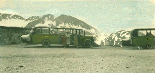 Bus Postal au col du Susten