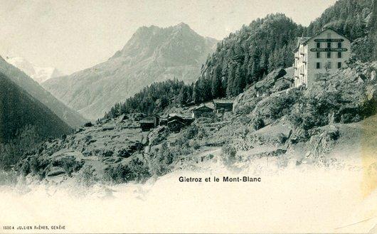 Finhaut, le hameau de Gietroz