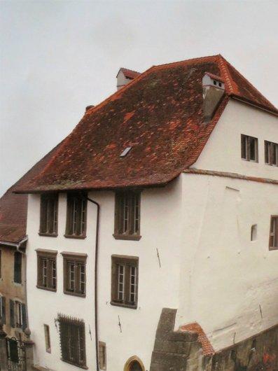 Estavayer-le-Lac Maison des Sires Balthazar Müller bailli d'Estavayer 1677-1754