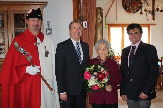 Mathilde Abbet a cent ans