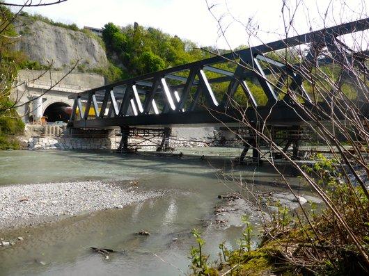 CEVA, le pont sur l'Arve