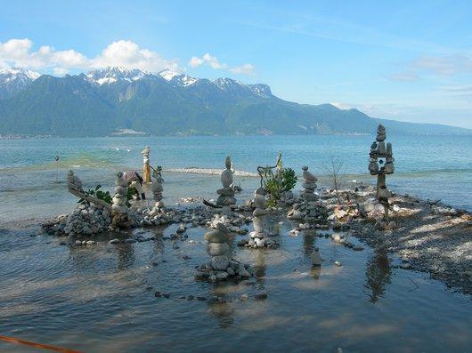 Sculptures lacustres