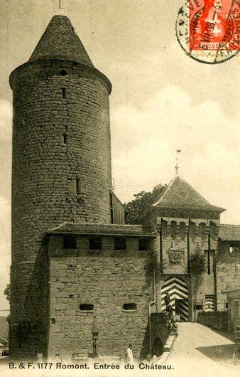 Romont, son château