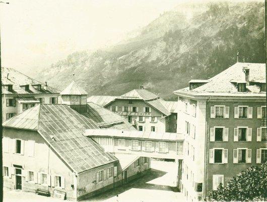 Hôtel de l'union Loèche-les-Bains