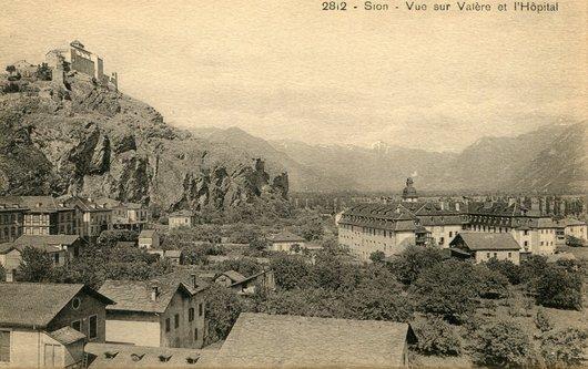 Sion, l'ancien hôpital