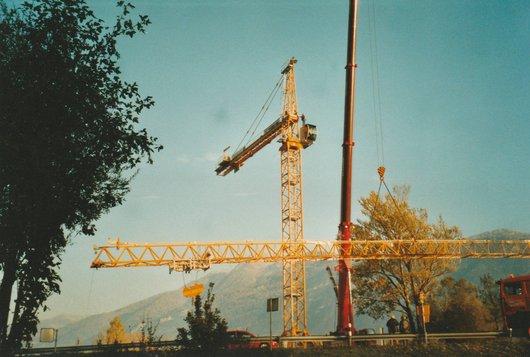 Pont de Branson la construction