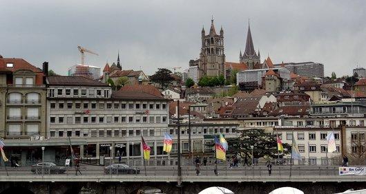 Lausanne - Restauration de monuments