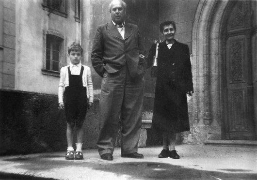 Enfance de Laurent de Weck, Estavayer, 1955