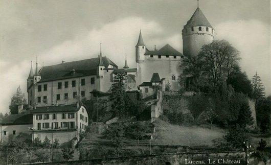 Le château de Lucens