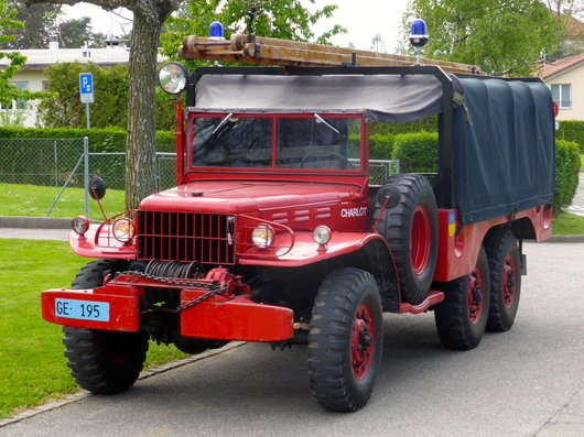 Dodge WC63, 6x6