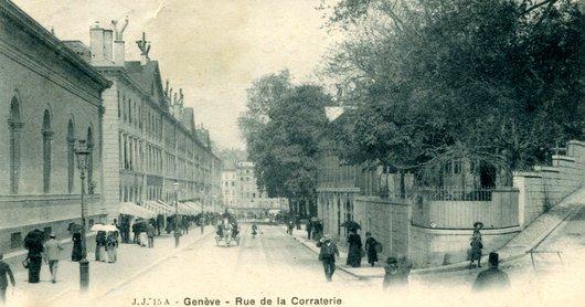 Genève, la Corraterie