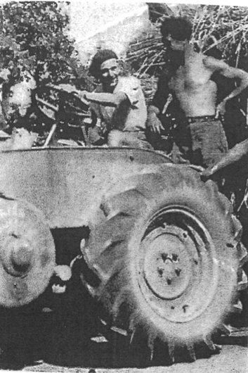 Tracteur de Edouard Hostettler