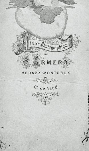 Cartouche de Siméon Armero, Montreux