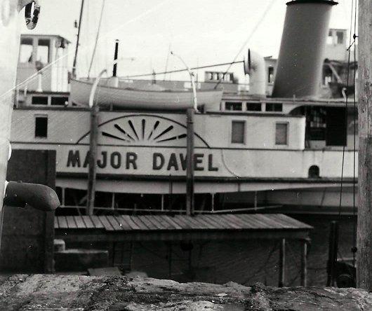 Vapeur «Major-Davel»