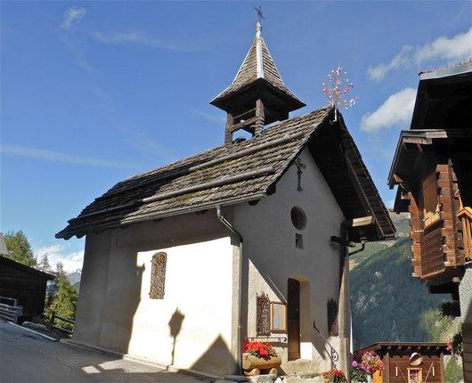 Pinsec, Anniviers, la chapelle