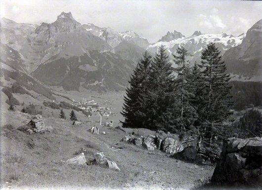 Engelberg vue générale Lauterbrunnen canton de Berne