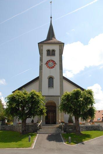 Eglise de Forel Lavaux