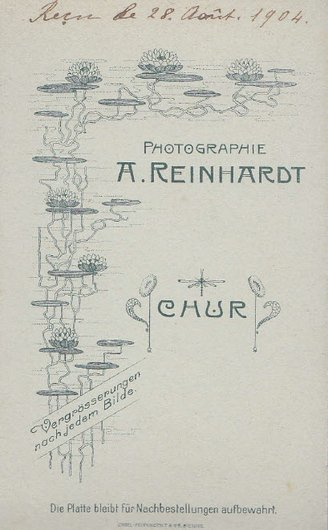 A. Reinhardt à Coire