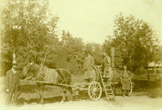 Vignerons à Morges 1893