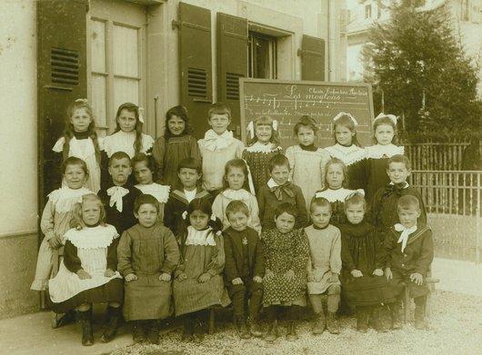 Classe enfantine, Pontaise
