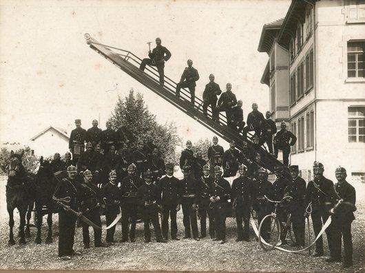 Les Sapeurs pompiers de Renens