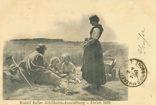 Rudolf Koller peintre réaliste suisse