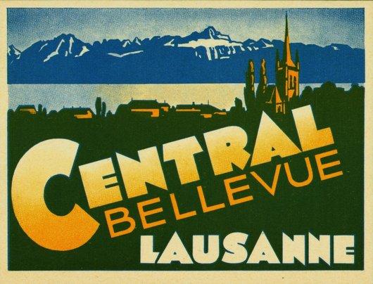 Hôtel Central Bellevue Lausanne