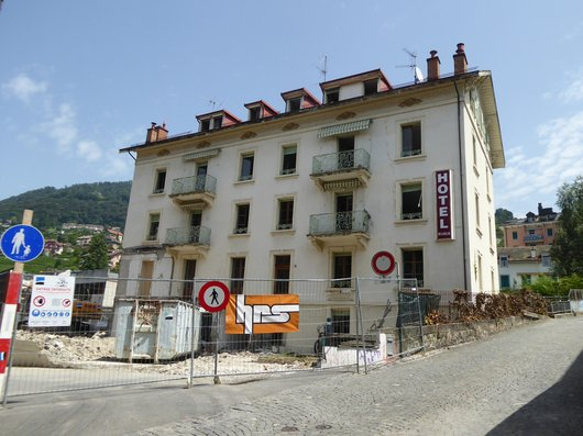 Montreux : adieu le petit hôtel