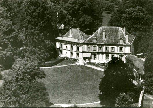 Canton de Vaud, le château de Dully