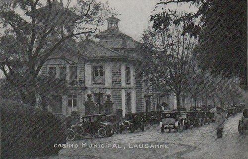 Lausanne le Casino Municipal