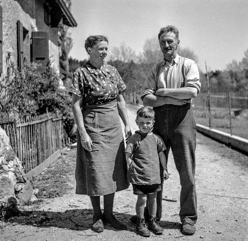 La famille des fermiers de Bonmont