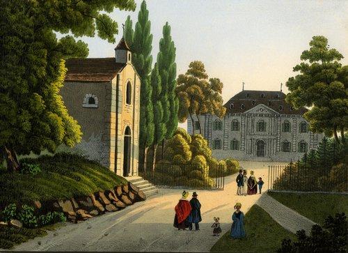 Ferney-Voltaire, chapelle et château