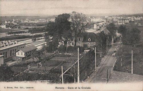 Renens gare et la Croisée