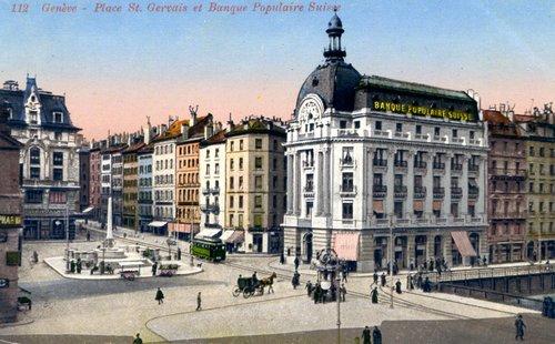 Genève, la place Saint-Gervais