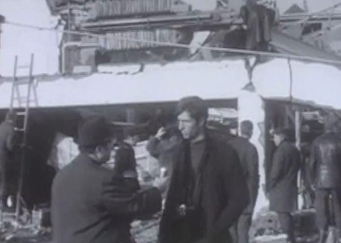 Explosion de la Carba à Renens en 1969