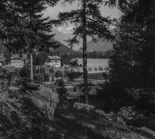 Joli coup d'oeil sur le Lac de Champex