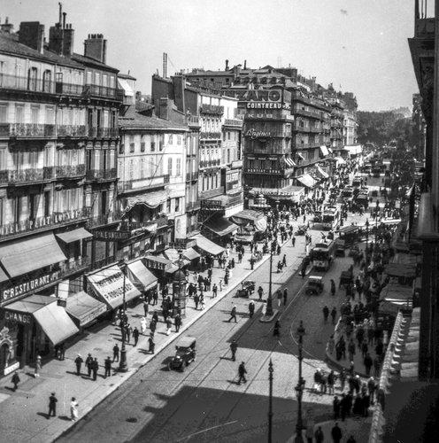 Marseille et La Canebière