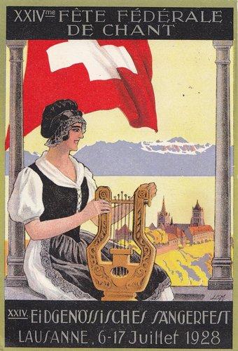 Fête fédérale de chant à Lausanne