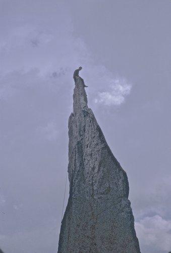 La Fiamma d'Albigna, 2487 mètres