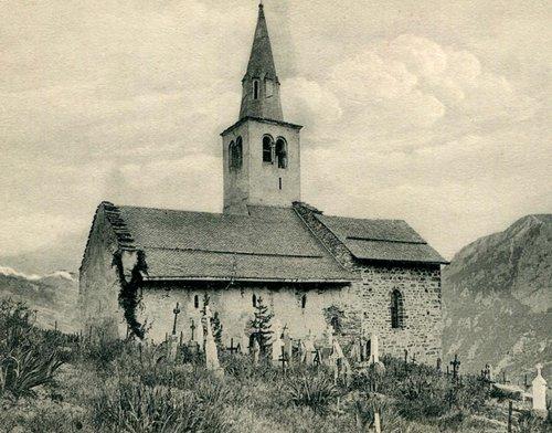 Vex, l'église Saint-Sylve