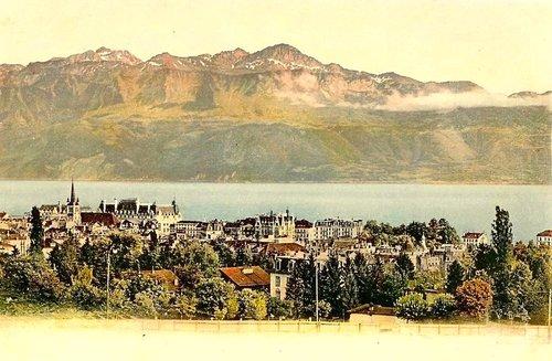 Lausanne et la rive française