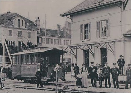 Aubonne gare train