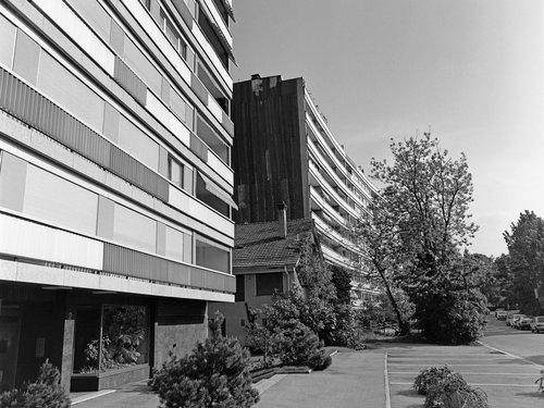 Genève, immeubles rue Pedro Meylan