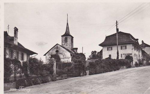 Eglise et cure de Faoug