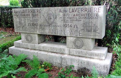 Lausanne - Tombe d'Alphonse Laverrière