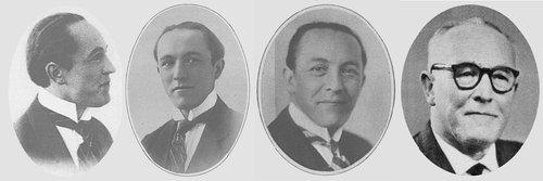 Visages de l'OSR - Fernand CLOSSET, 1er violon, second chef d'orchestre, dès 1918